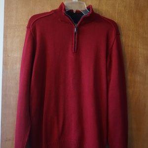 Oscar de la Renta Men's Red Sweater (Size: M)